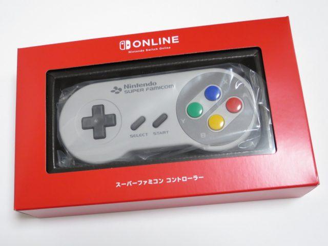Nintendo Switch用 スーパーファミコン コントローラー箱入り