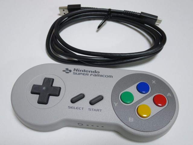 Nintendo Switch用 スーパーファミコン コントローラー 付属品