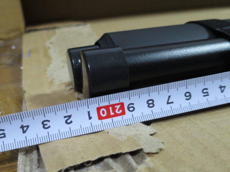 PRS-KBHD90の長さを計測