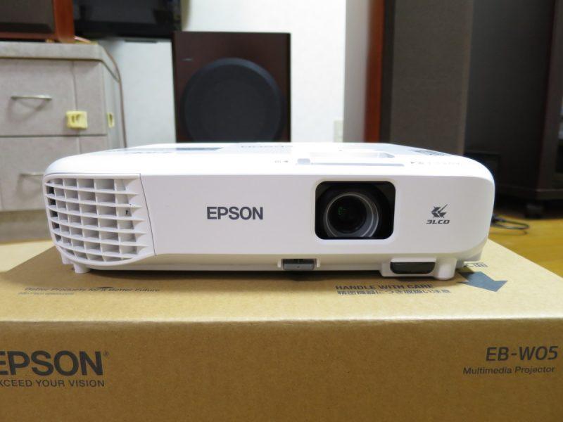 EPSON プロジェクター EB-W05本体
