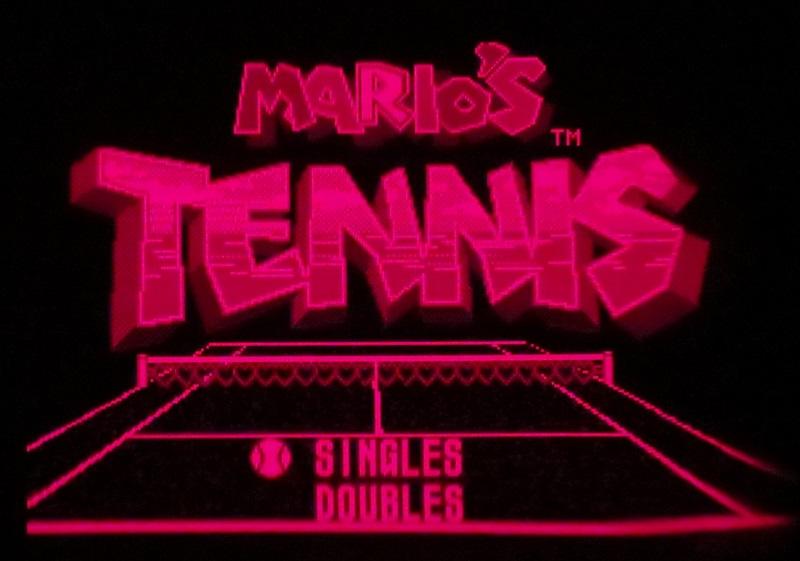 マリオズテニス