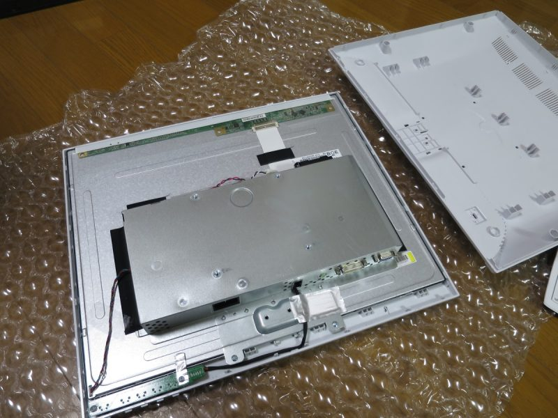 LCD-AD192SEDSWを分解する