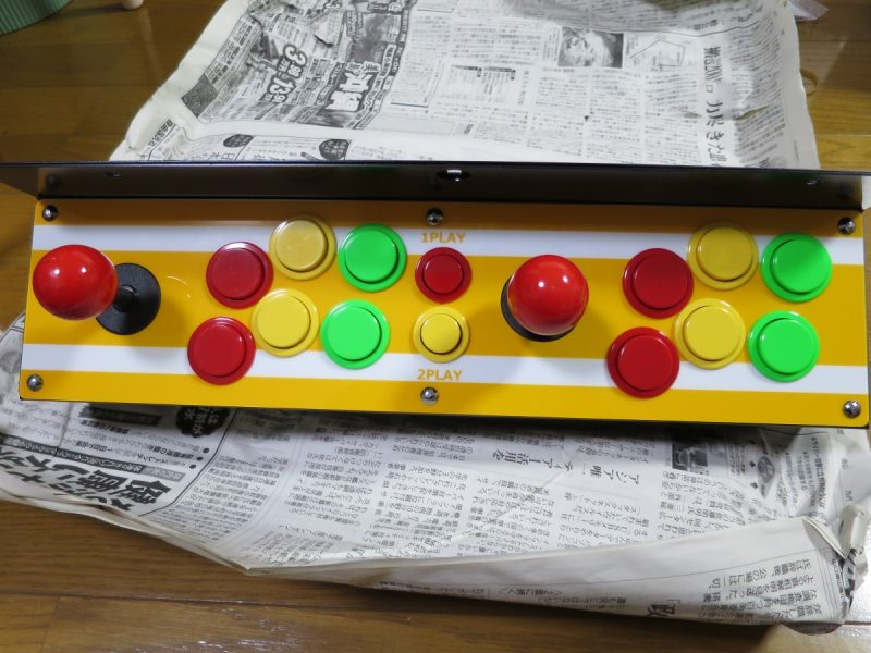 パソケードテーブル筐体用コントロールパネル