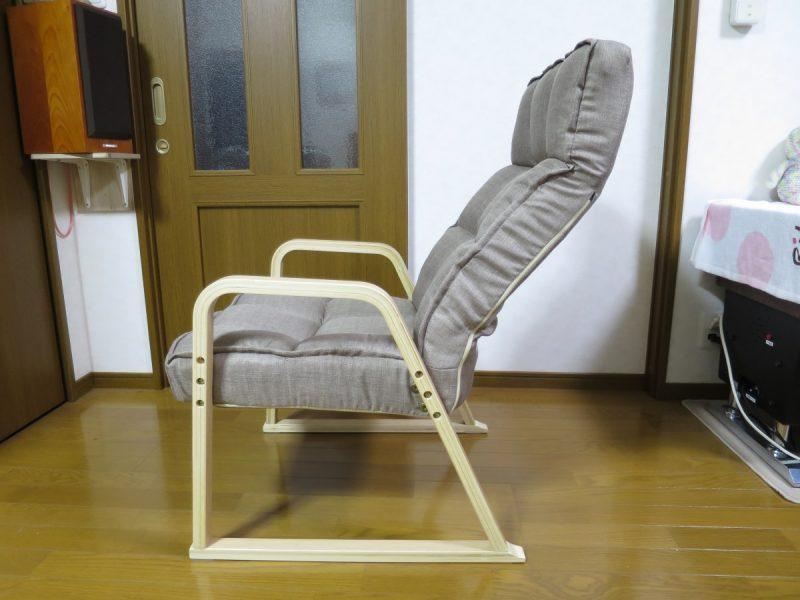 高座椅子「LIXILビバ VHZ-TH」 リクライニングの確認(首)