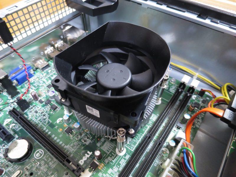 DELL Optiplex3010のCPUクーラー