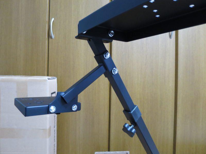 AP2 Racing Wheel Stand シフタースタンドを取り付ける(内側から)