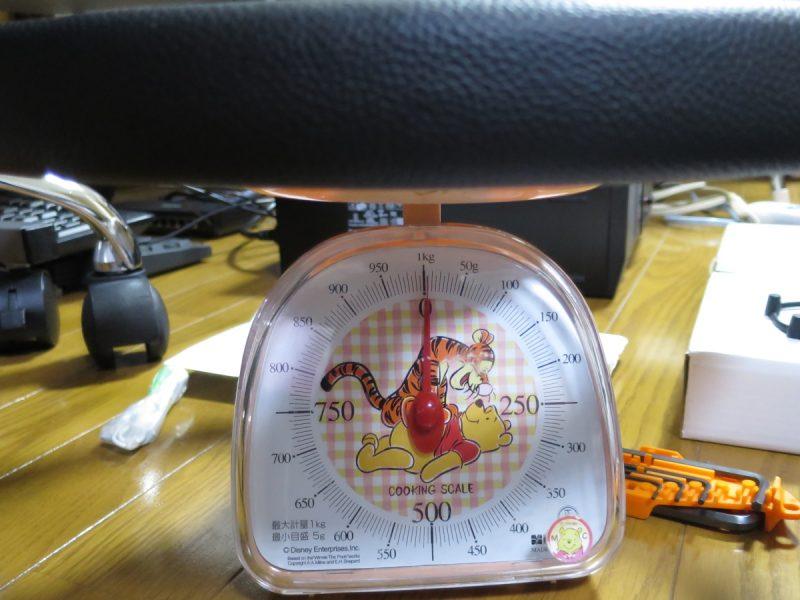 D1 SPEC FLAT-Rの重さ