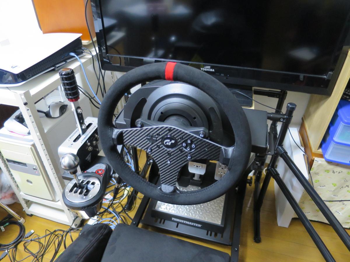 スラストマスター T300のステアリングをSIMPUSHに交換